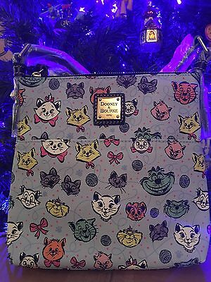 Disney Dooney & Bourke Cat Crossbody Letter Carrier Cheshire Aristocats SOLD OUT