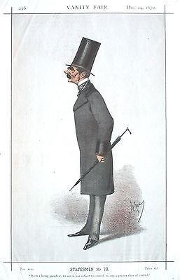 Lt General Sir Henry Knight Storks - Soldier & MP by APE (Carlo Pellegrini) 1870
