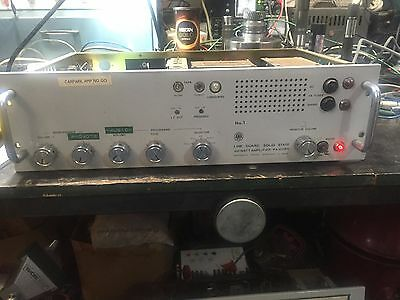 AWA Vintage PA Amplifier PA 1011BY ex- Shopping Centre Working