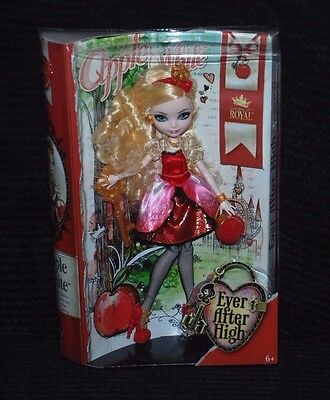 Ever After High Royal - Daughter of Snow White - Apple White Doll BNIB