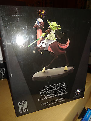 Star Wars  Gentle Giant LTD YODA ON KYBUCK The Clone Wars