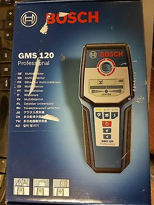 Bosch GMS120 Professional Cable Wire Detector Tester New Tool
