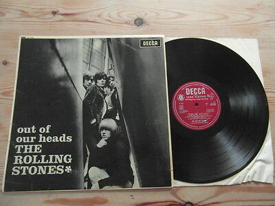 ROLLING STONES - OUT OF OUR HEADS-1st UK MONO PRESS-UN-BOXED RED DECCA-VINYL LP