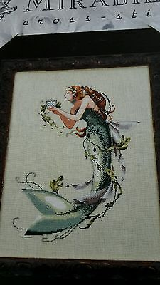 Mirabilia cross stitch chart out of print The Queen Mermaid