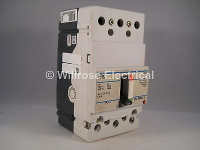 Hager MCCB 125 Amp Triple Pole 125A 3 Phase Breaker H125D HD150