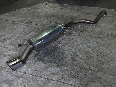 Seat Leon Cupra R 225 2001-2006 Milltek non resonated stainless cat back exhaust