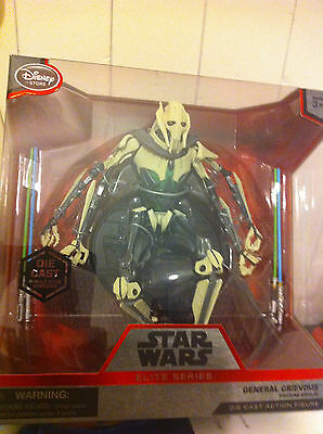 Star Wars 6.5'' General Grievous Elite Series Die Cast Figure New In Box