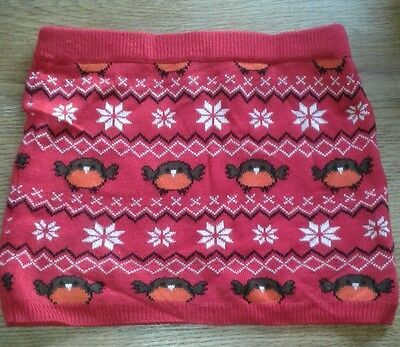 Girls Winter/Christmas Skirt age 1.5 to 2 years. Clothing