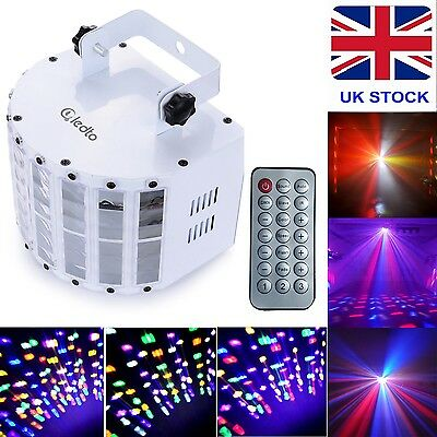 Sound/Music Active RGBW DMX-512 LED Stage Effect Lighting Light Disco Party Bar