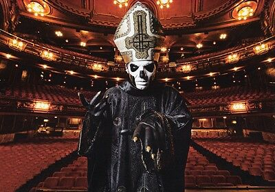 GHOST B.C. Papa Emeritus III PHOTO Print POSTER Band Popestar Meliora Shirt 004
