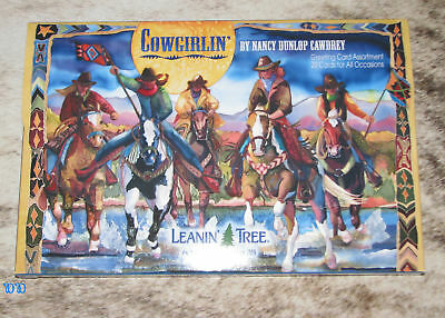 LEANIN TREE Cowgirlin' 20 Greeting Cards Assortment with Designer Envelopes
