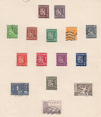 FINLAND ^^^^^1930  better used   collection   hcv @ ea7098xxbfin7
