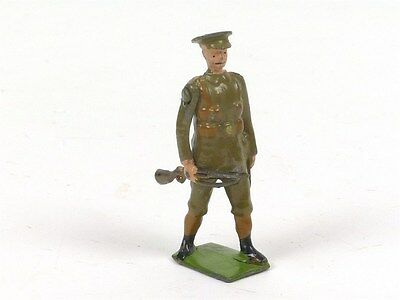 Britains Limited Territorial Infantry Walking at the Trail Set 160 Toy Soldier C
