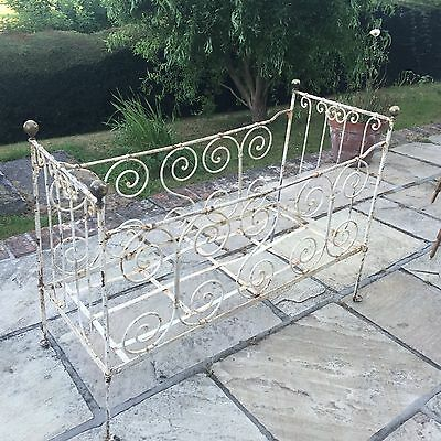 Antique French Foldaway Cot