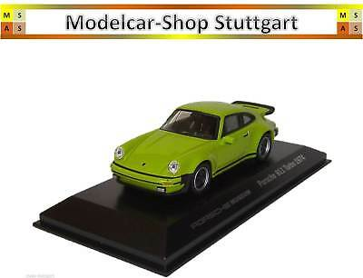 Porsche 911 Turbo 3.0 Acid Green 1974 - MUSEUM EDITION WELLY 1:43 map01993114