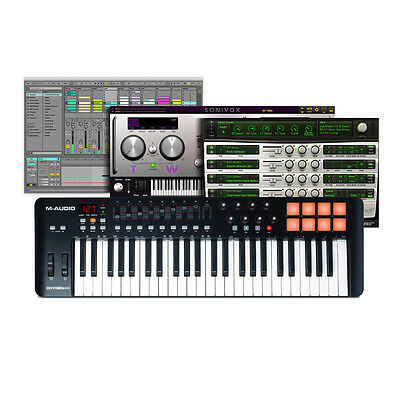 M-Audio Oxygen 49 MK4 49Key USB MIDI Keyboard Controller + Ableton & Air Xpand!2