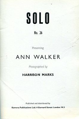 Men's Vintage Glamour Magazine Solo No.26 by Harrison Marks