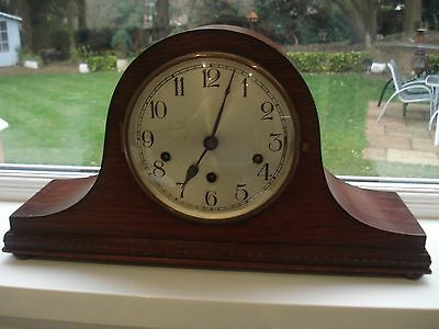 Lovely Large Napoleon Westminster Chime Mantle Clock