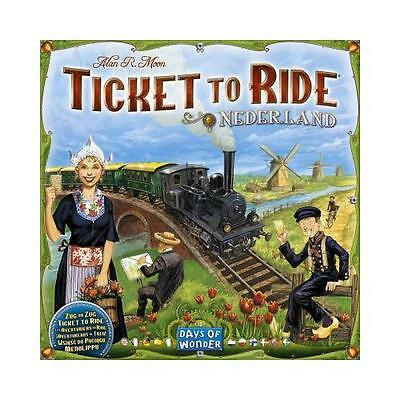 Ticket to Ride Map Collection: Volume 4 - Nederland [Multilang]