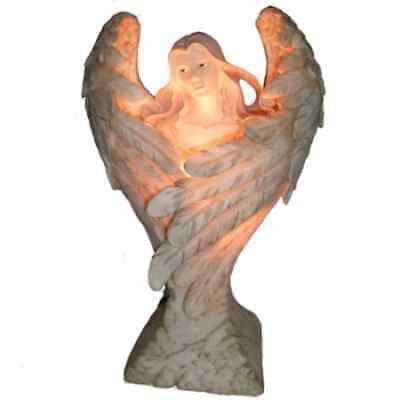 Wings Of Peace Angel Ornament Lamp Light Fantasy Gift
