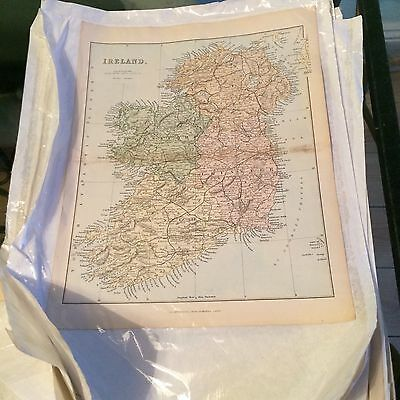 Pile Of Old Maps