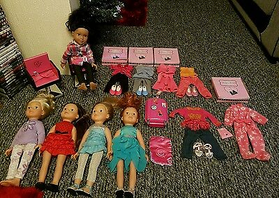 Design a Friend Dolls and clothes bundle by Chad Valley . Excellent condition