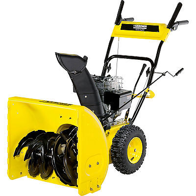 Karcher STH 5.56 W Petrol Snow Blower 560mm Clearing Width with 4 Stroke Engine