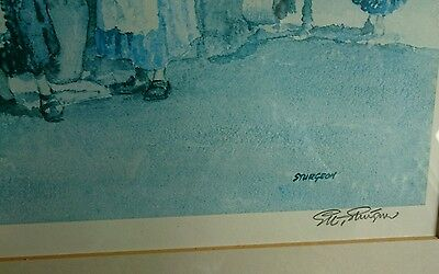 Very Large, Limited Edition, E R Sturgeon, Signed Print.