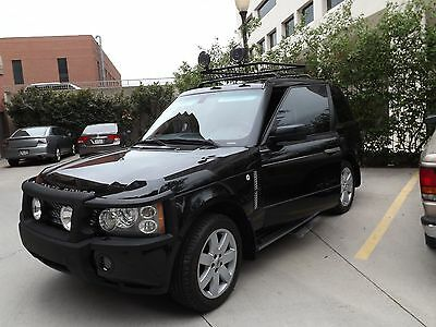 2006 Land Rover Range Rover Supercharged 2006 BLK/BLK FULL SIZE SUPERCHARGED RANGE ROVER