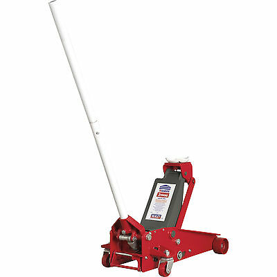 Sealey 3t Trolley Jack with Safety Lock 145 - 505mm Lift