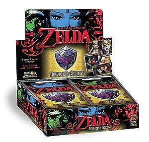 Legend of Zelda Trading Cards - Booster Box  New