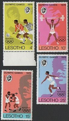 Lesotho stamps. 1976 Olympic Games - Montreal, Canada. Set 2. MNH