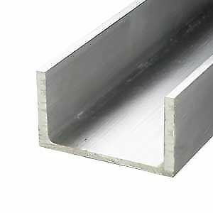 "6061-T6 Aluminum Association Channel 10"" x 3.5"" x 36"""