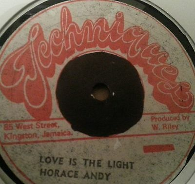 """Horace Andy - – Love Is The Light 12""""   /Listen"""