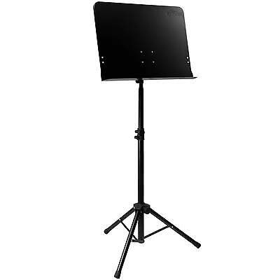 Tiger Orchestral Sheet Music Stand with Solid Desk - New & Improved