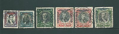 Vintage stamps from CHILE - Early collection of AIR issues