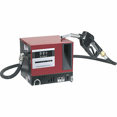 Sealey Diesel/Fluid Transfer System 50lr/min Wall Mounting with Meter 240v