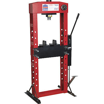 Sealey Premier Hydraulic 30t Floor Press with Foot Pedal
