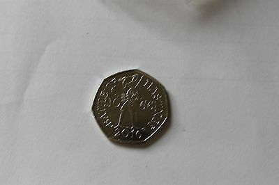 2016 Battle of Hastings single 50p coin Uncirculated