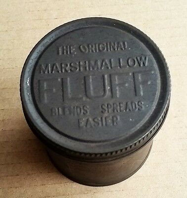 Vintage The Original Marshmallow FLUFF Tin Can 1920s