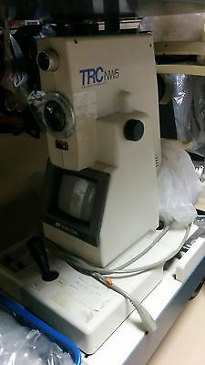 TOPCON TRC-NW5 NON-MYDRIATIC RETINAL FUNDUS CAMERA  Certified^check/working