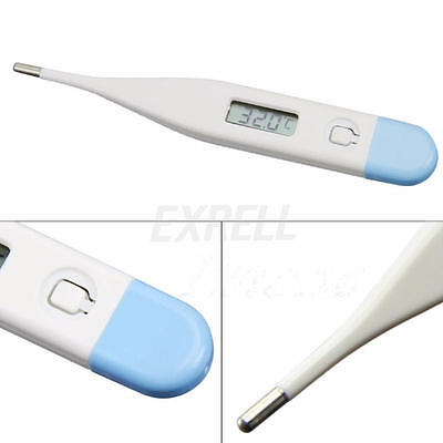 Baby Adult LCD Digital Temperature Thermometer Medical Body Fever Measure Hot