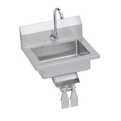 Economy Hand Sink, wall mount, Knee valve