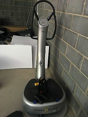 Power Plate My-5 with remote exercise machine