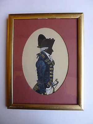 Four Framed Prints of Royal Navy Militaria Outfits (1787-1825 by John Mollo
