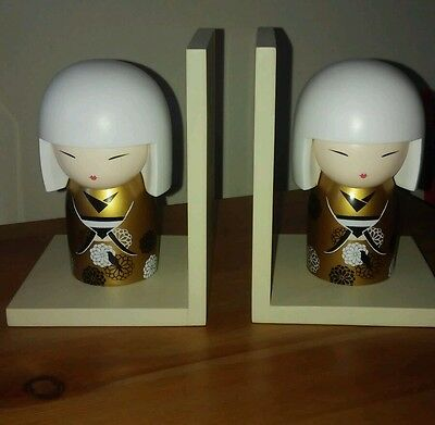 Kimmidoll Beautuful Bookends Brand New Will Come In Christmas Box