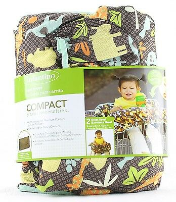 High Chair / Shopping Car Cover Infantino Compact USED Missing Safety Harness