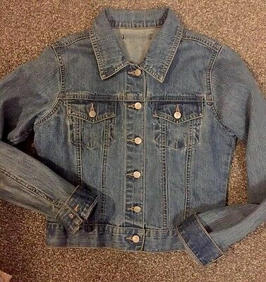 girls denim jacket age 11-12