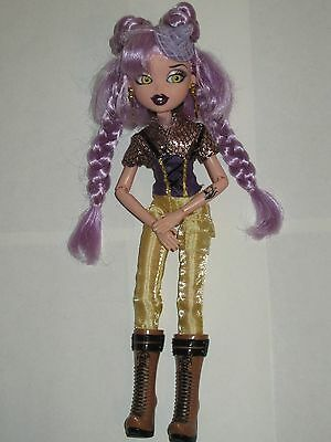 Perfect Condition Mattel 'my Scene' Doll Wearing Gold Sparkly Outfit And Boots