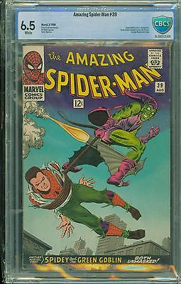 Spiderman #39 [1966] Certified[6.5] Classic Cover
